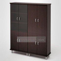 Шкаф высокий широкий в кабинет руководителя