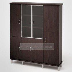 Шкаф широкий высокий для одежды