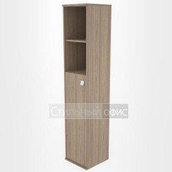 Шкаф высокий узкий со средней дверкой