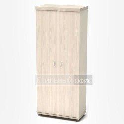 Шкаф высокий закрытый в кабинет руководителя
