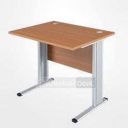 Стол прямой на металлокаркасе офисный для персонала