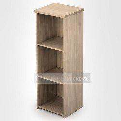 Стеллаж в офис деревянный средний узкий