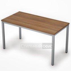 Стол на металлокаркасе прямой