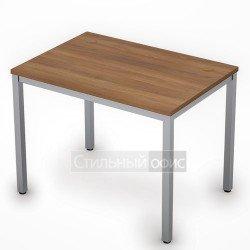 Стол на металлокаркасе прямой короткий