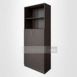 Шкаф полузакрытый с двумя открытыми нишами для персонала