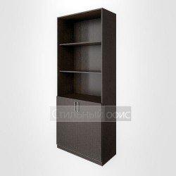Шкаф с низкими дверьми высокий широкий для персонала