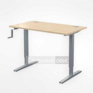 Стол письменный прямой офисный для сотрудников