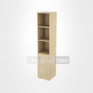 Шкаф узкий высокий полузакрытый правый офисный для персонала 19.75 + 19.82 R