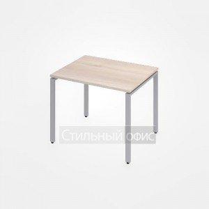 Стол на металлокаркасе прямой офисный для персонала