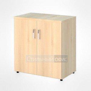 Шкаф широкий низкий закрытый офисный для персонала 20.72 + 20.83