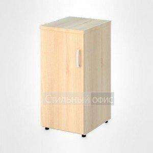 Шкаф узкий низкий левый закрытый офисный для персонала 20.71 + 20.83 L
