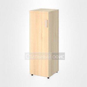 Шкаф узкий средний левый закрытый офисный для персонала 20.74 + 20.84 L