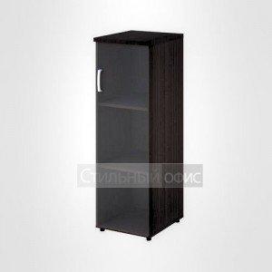 Шкаф узкий средний правый со стеклом офисный для персонала 20.74 + 20.90 R