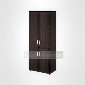 Шкаф высокий широкий закрытый офисный для персонала 20.78 + 20.83 + 20.84