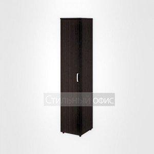 Шкаф высокий узкий левый закрытый офисный для персонала 20.77 + 20.85 L