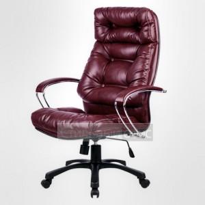 Кресло офисное для руководителя LK-14 PL Перфорированная натуральная кожа