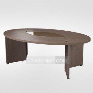 Стол для заседаний овальный в кабинет руководителя