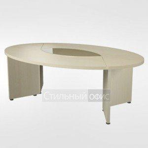 Стол для заседаний овальный в кабинет руководителя 44.14.24