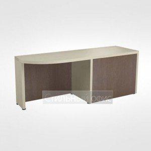 Боковой приставной стол левый в кабинет руководителя 44.15.24 левый