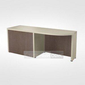 Боковой приставной стол правый в кабинет руководителя 44.16.24
