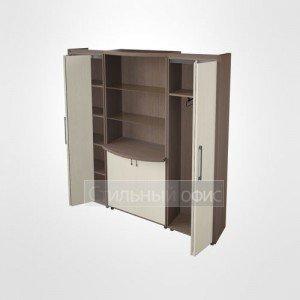 Шкаф комбинированный в кабинет руководителя 44.45.22 Композиция №8
