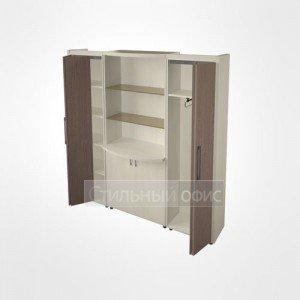 Шкаф комбинированный в кабинет руководителя 44.45.24 Композиция №8