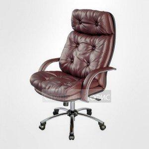 Кресло офисное для руководителя LK-14 Перфорированная натуральная кожа