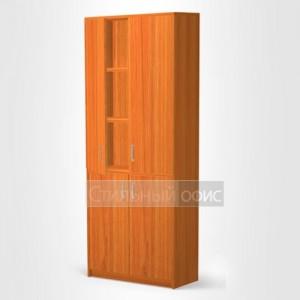 Шкаф для бумаг для офиса ШБ-3 + ДВ-60