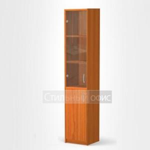Шкаф для бумаг узкий для офиса СБ-3 + А5
