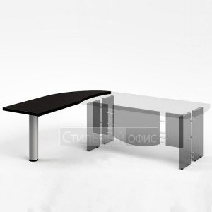 Приставка офисная с опорой к столу