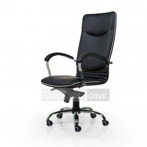 Кресло офисное для руководителя Plato-chrome