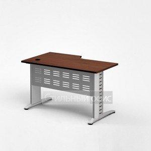Стол эргономичный на металлокаркасе с метал. экраном
