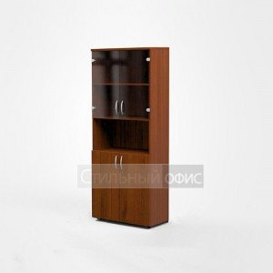Шкаф офисный для бумаг для персонала Э-44.0 + Э-47.0 2 шт. + Г-14.0 2 шт. + ЭВ 2 шт. Эдем