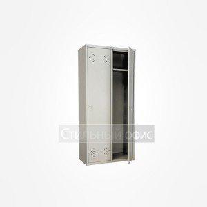 Шкаф металлический для раздевалок широкий