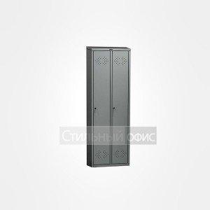 Шкаф металлический для раздевалок 2 секции