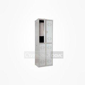 Шкаф металлический для раздевалок 4 секций