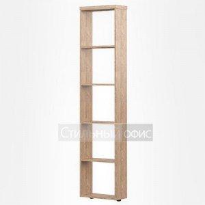 Стеллаж приставной офисный высокий узкий для руководителя ABS 196