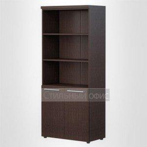 Шкаф высокий широкий полузакрытый офисный для руководителя AHC 85.5