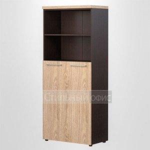 Шкаф полузакрытый высокий широкий офисный для руководителя AHC 85.6