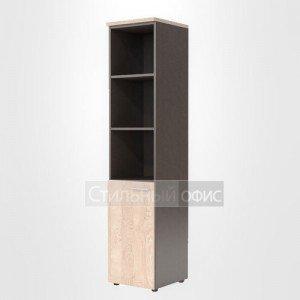 Шкаф колонка левая высокая офисная для сотрудников