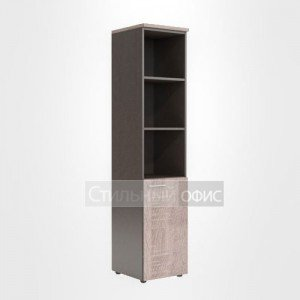 Шкаф колонка правая высокая офисная для сотрудников