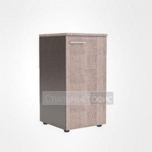 Шкаф колонка низкая закрытая правая офисная для сотрудников