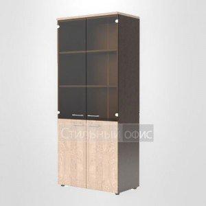 Шкаф высокий закрытый офисный для сотрудников