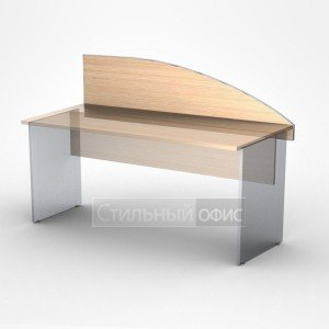 Экран для офисного стола 160