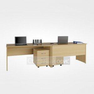 Мебель для офиса для персонала 22.01.х 2 шт + 22.37.х 2 шт