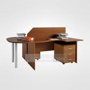 Мебель для офиса для персонала 22.19пр.х + 22.18л.х + 22.37.х 2 шт + 22.27.х + 22.62.х 2 шт + 22.40.1 2 шт + 22.73.8 2 шт