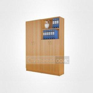 Комплект офисных шкафов в сборе 21.05.х + 21.10.х + 21.11.х