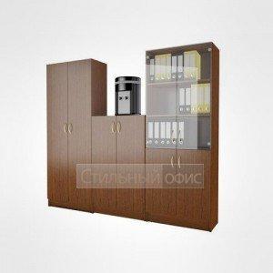Комплект офисных шкафов в сборе 21.05.х + 21.06.х + 21.10.х + 21.11.х +21.13.1 + 21.12.х