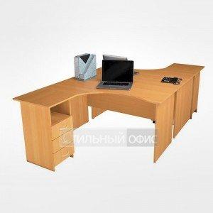 Мебель в офис для персонала 21.14л.х 2шт + 21.38.х 2шт