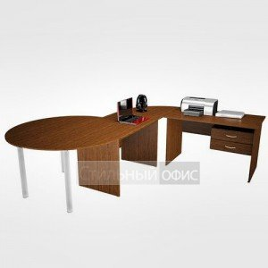 Мебель в офис для персонала 21.22.х + 21.01.х + 21.43.х 4 шт + 22.40.1 4 шт + 11.19.1 4 шт